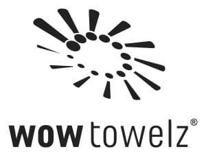 WOWTOWELZ Logo-9. Mikrofasertuch, Handtuch für Sport Fitness und 1001 andere Möglichkeiten. Microfaser.