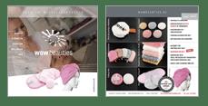 WOWBEAUTIES Flyer – Abschminkpads, Mikrofaserhandtücher für Kosmetik, Wellness, Beauty, ... in Top Qualität, mit WOW-Effekt und auch als Werbemittel