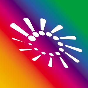 WOWTOWELZ Colour Logo. Mikrofasertuch, Handtuch für Sport Fitness und 1001 andere Möglichkeiten. Microfaser.