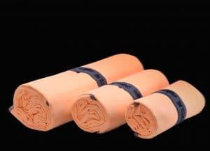 WOWTOWELZ Mikrofasertuch, Microfaser-Handtuch für Sport Fitness Fitnesscenter Fit-Machen. Als Badetuch, Strandtuch, Saunatuch in XL für Urlaub und Spa. Towels / Handtücher mit WOW-Effekt.